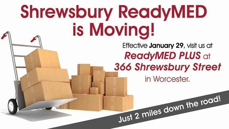 ReadyMED moved to Shrewsbury